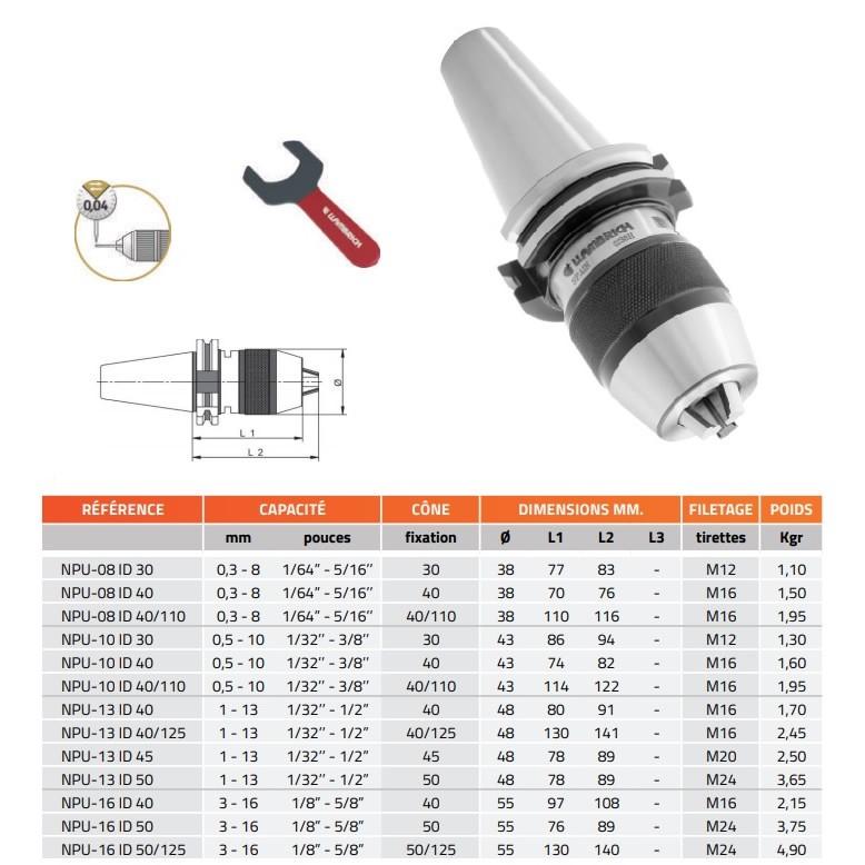 Chiloskit Adaptateur de mandrin universel de 0,3 /à 3,4 mm pour perceuse /électrique Dremel
